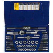 53 Pc. Machine Screw/Fractional Tap & Hex Die Set