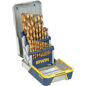 29 Pc. Drill Bit Industrial Set Case, Tin Coated