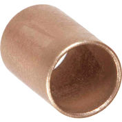 "Oilube® Powdered Metal Sleeve Bearing 101076, Bronze SAE 841, 1/4""ID X 3/8""OD X 3/4""L"