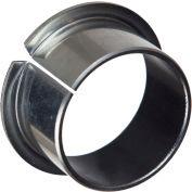 "Isostatic TU® Flange Bearing 502015, Steel-Backed PTFE Lined, 3/4""ID X 7/8""OD X 3/4""L"