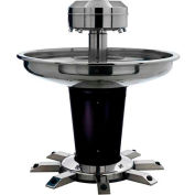 "Sanispray® Washfountain, Circular, 8-User,39"" Extra Height Rim, 54"" Dia. Indiv. Foot Operated"