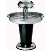 "Sanispray® Washfountain, Semi-Circular, 54""W, 4-User, Individual Hand Operated, Liquid Soap"