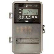 Intermatic ET1705CPD82 7-Day 30 Amp SPST Electronic Timeswitch - Clock Volt 120-277V NEMA 3R Plastic
