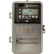 Intermatic ET1725CPD82 7-Day 30AMP 2xSPST / DPST Electro Timeswitch-Clk Volt 120-277V NEMA3R Plastic
