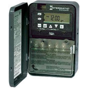 Intermatic ET8015CR 7-Day 30 Amp SPST Electronic Astro Timeswitch - Clock Voltage 120-277V NEMA 3R