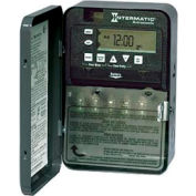 Intermatic ET8115C 7-Day 20/30 Amp SPDT Electronic Astro Timeswitch-Clock Voltage 120-277V NEMA 1