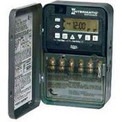 Intermatic ET8215C 7-Day 30 Amp 2xSPST or DPST Electro Astro Timeswitch-Clock Volt 120-277V NEMA 1