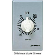 Intermatic FF5M 5 Minute 125-277V SPST Commercial Series Spring Wound Timer