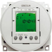 Intermatic FM1D50A-120 Electronic 24-Hour/7-Day Timer Module, Surface/DIN Rail Mount, 120V, 50/60Hz