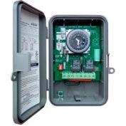 Intermatic GM40AV-W 7-Day, 40A SPDT/DPDT Electromech Time Control, NEMA3R Outdoor Plastic Enclosure