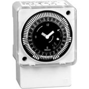 Intermatic MIL72ASWUZH-120 7-Day Electromech Timer Surface/DINRail Batery Backup ManualOverride 120V