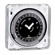 Intermatic MIL72ESTUZ-24 24-Hr, Electromech Timer, Flush Mount, w/o Battery Backup, 24V