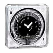 Intermatic MIL72ESTUZH-120 24-Hr, Electromech Timer, Flush Mount, Manual Override, w/o Battery, 120V