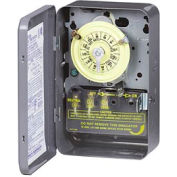 Intermatic T103 NEMA 1 - 24 Hour Dial Mechanical Time Switch, 125V, DPST