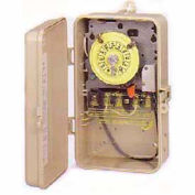 Intermatic T104P201 NEMA 3R - Time Switch In Plastic Enclosure W/Heater Protection, 208-277V, DPST