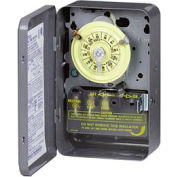 Intermatic T106R NEMA 3R - 24 Hour Dial Mechanical Time Switch, NEMA 3R Case, 208-277V, SPDT