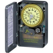 Intermatic T1905 NEMA 1 - 24 Hour Dial Time Switch W/o Skipper, 125V, SPDT