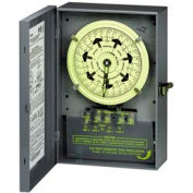 Intermatic T7402BC NEMA1-7 Day Switch w/Carryover, Separate Motor And Circuit Terminals, 208-277V