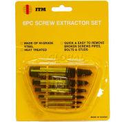 ITM 6 Pc. Screw Extractor Set