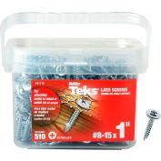 "ITW Teks Lath Sharp Point Screw - #8-15 x 1"" - Pkg of 510 - 21510"