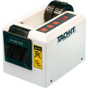 "Tach-It Automatic Tape Dispenser, 8""L x 5""W x 5-1/2""H, White"