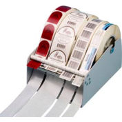 "Mountable Label Dispenser w/ Single/Multi Roll Capacity For Up To 6-1/2"" W x 7"" Dia. 3"" Core Roll"