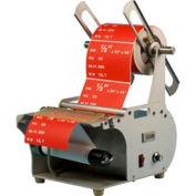 "Semi-Automatic Label Dispenser w/ Rewinder For Up To 8"" W x 12"" L x 12"" Diameter 1"" - 3"" Core"