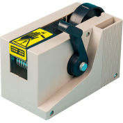 """Tach-It Manual Desktop Tape Dispenser, 7-1/2""""L x 4""""W x 4-1/2""""H, Beige"""