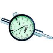 "Insize Compact Dial Indicator .25"" Range, 2304-025"