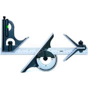 "InSize 2278-180E 12"" Combination Square Set"