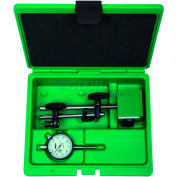 Insize 2 Piece Measuring Tool Set-Dial Indicator & Magnetic Stand, 5002-4e