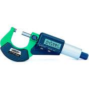 "InSize Electronic Micrometer 2-Button, 3109-25E, 0-1""/0-25mm Range"