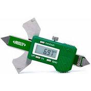 "Insize Dial Test Indicator Holder, 6296-2, 3/8"" Dia, 5/32"" Dia Stem Hole & Dovetail Groove"