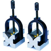 INSIZE V-Block Set, 6896-11, .20 - 1.18 DIA Shaft Range, 2 Pcs