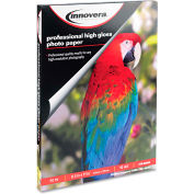 "Innovera® High-Gloss Photo Paper 99550, 8-1/2"" x 11"", White, 50/Pack"