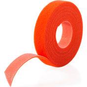 """VELCRO® Brand One-Wrap® Hook & Loop Tape Fasteners Orange 3/4"""" x 75'"""