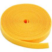 "VELCRO® Brand One-Wrap® Hook & Loop Tape Fasteners Yellow 1/2"" x 75'"