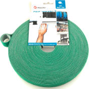 "VELCRO® Brand One-Wrap® Hook & Loop Tape Fasteners Green 3/8"" x 75'"
