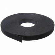 "VELCRO® Brand One-Wrap® Hook & Loop Tape Fasteners Black 3/4"" x 75'"