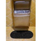 Wizkid Antimicrobial Sink/Hand Towel, Black 12 Mats/Box - SINK-BL B0x