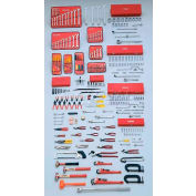 Proto J99712A 272Piece Master Set With Roller Cabinet J453441-8RD