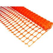 Boen SF-4100 Safety Snow Fence - O-Ring, 4 Ft. X 100 Ft., Orange