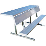 Jaypro Sports 15' Portable Players Bench with Shelf