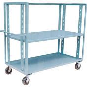 Jamco Adjustable Shelf Stock Truck CZ472 36 x 72
