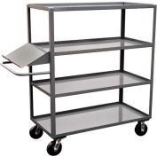 Jamco 4 Shelf Stock Truck with Writing Stand Handle DO260 24 x 60