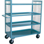 Jamco 2 Sided Mesh Truck with 4 Shelves ED460 36 x 60
