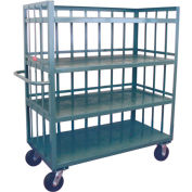 Jamco 3 Sided Slat Truck HD360 with 4 Shelves 30 x 60