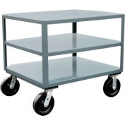 Jamco 3 Shelf Reinforced Mobile Table LE248 - 24 x 48 4800 Lb.