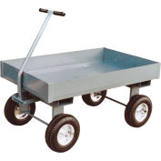 "Jamco Steel Deck Wagon Truck with 6"" Sides TX248 24 x 48"
