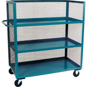 Jamco 3 Sided Mesh Truck ZC460 with 3 Shelves 36 x 60